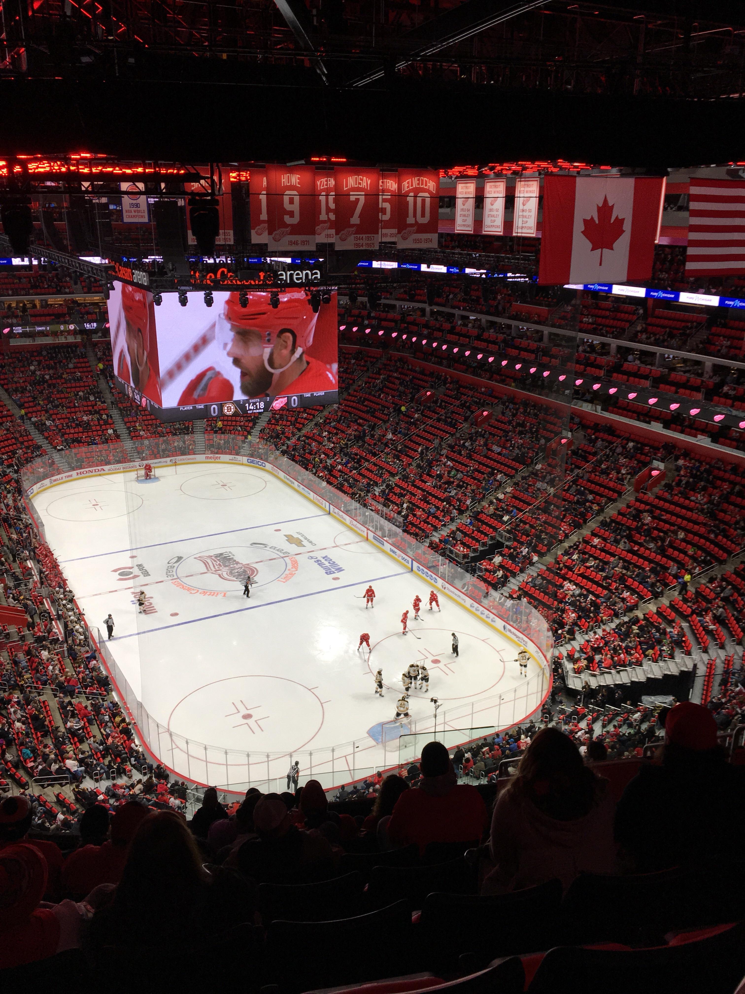 Review: Detroit's new Little Caesars Arena