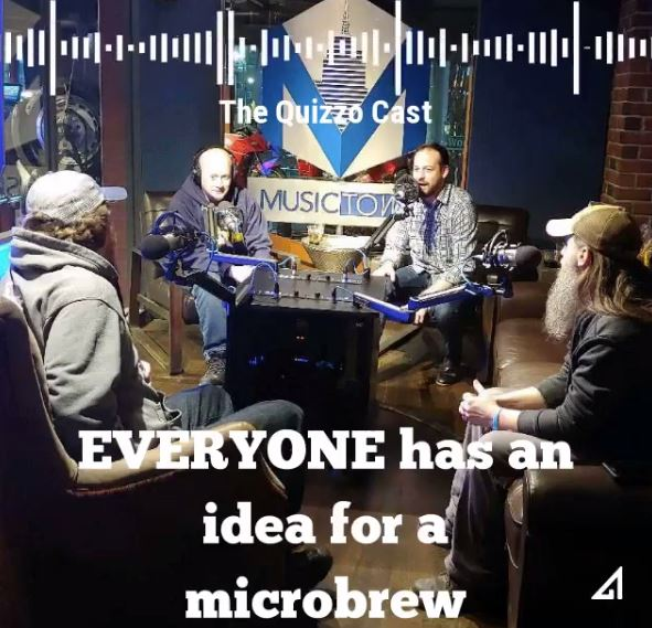 podcast promotion audiogram the quizzo cast